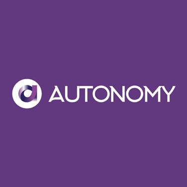 autonomy startup logo branding