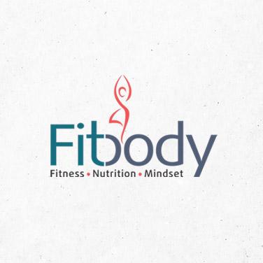 fitbody fitness instructor logo design