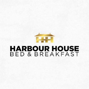 harbour house logo design