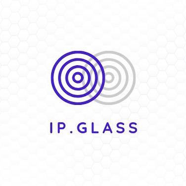 ipglass logo design portfolio