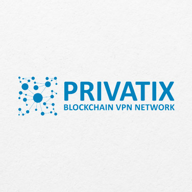 privatix startup logo design