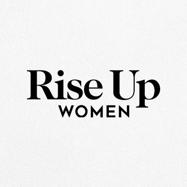 rise up women ireland logo design