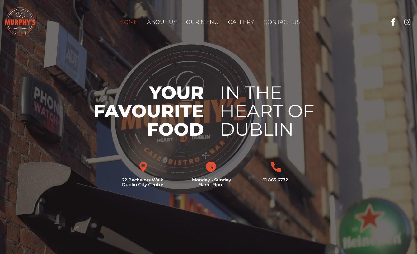 bespoke websites in Dublin