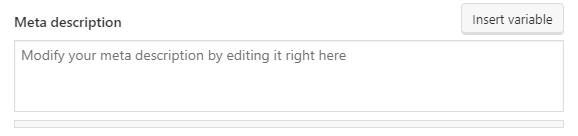 How to add Meta Description in WordPress
